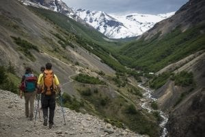 Trekking in Chile